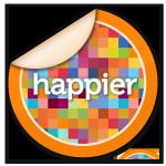 happier sticker